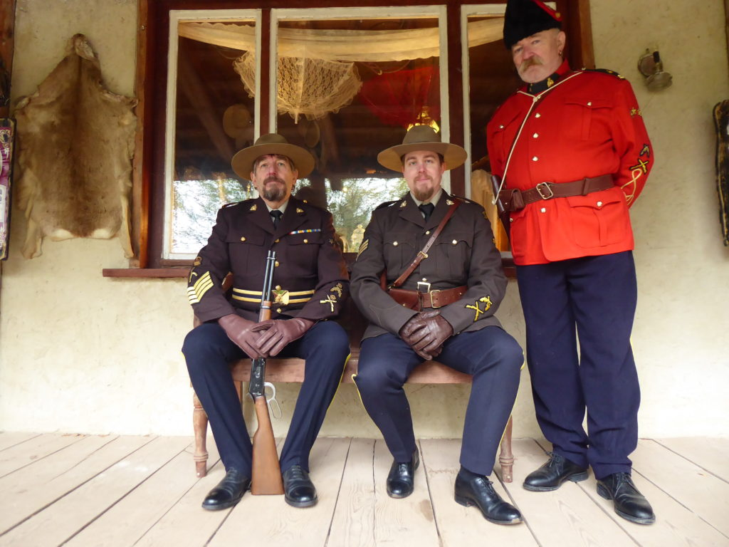 RCMP in Pullman City Harz