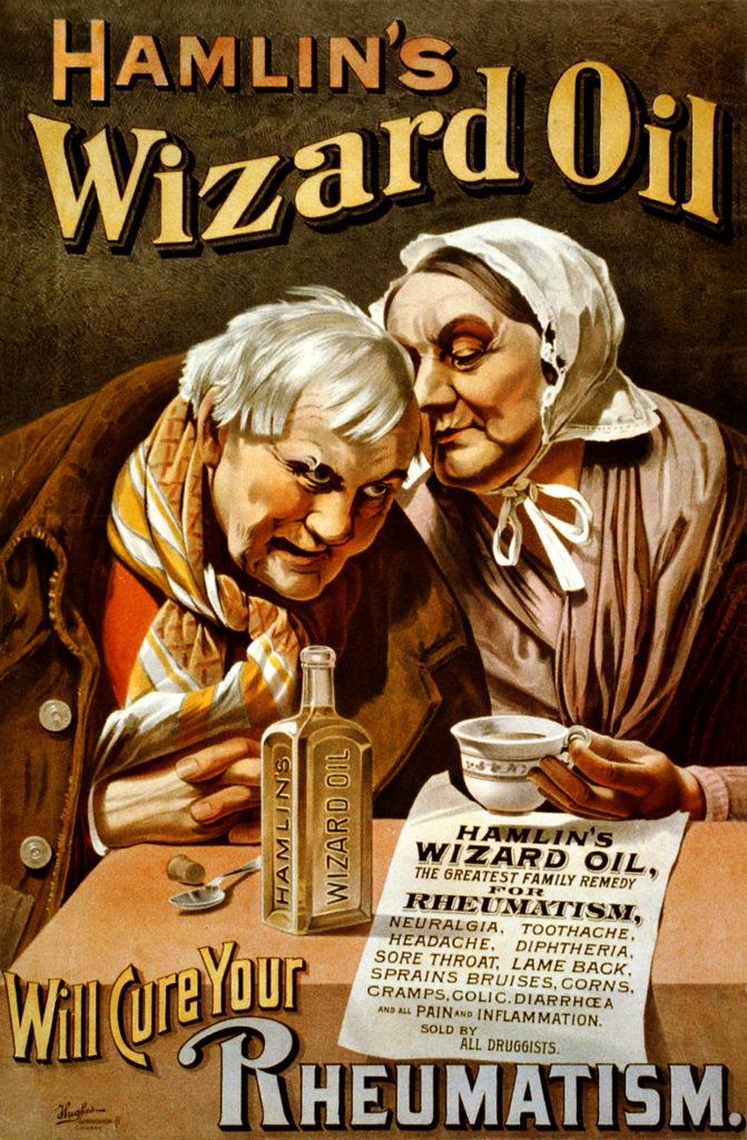 Hamlin's Wizard Oil Poster 1890