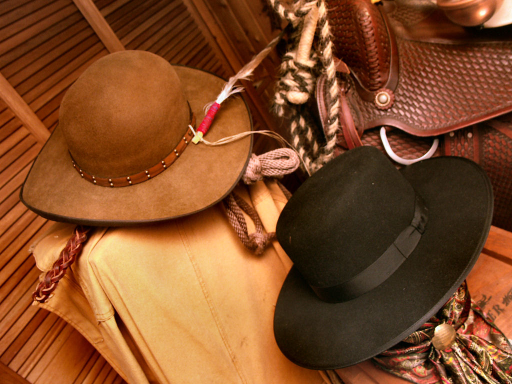 Stetson Cowboyhat Open Crown and Boss Of The Plain